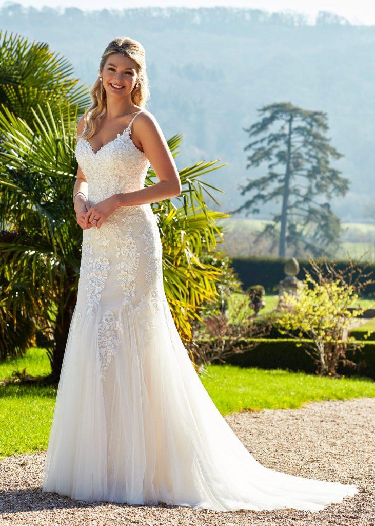 Wedding Dresses - Romantica - Satin Bow